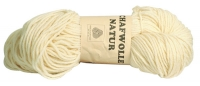 Unsere Strickwolle aus 100 % Schafwolle, natur