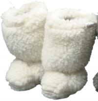 Baby-Stiefelchen mit Gummikordel
