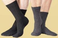 Saling Merino-Schafwoll-Socken mit Kaschmir