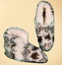 Hausschuhe Schafschurwolle