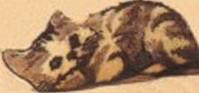 Formkissen -Motiv Katze-