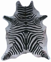 Kuhfell Zebraprint