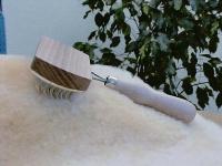 Bürste zur Woll-/Fellpflege