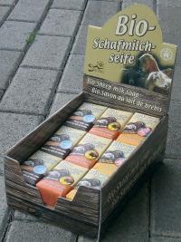 Bio-Schafmilchseife mit Honig (kbA)