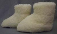 Fußwärmer mit ABS-Sohlenbeschichtung