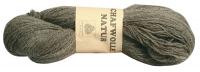 Unsere Strickwolle aus 100 % Schafwolle, grau