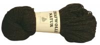 Unsere Strickwolle aus 100 % Schafwolle, braun