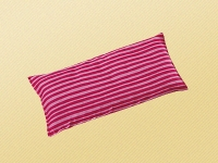 Saling Kirschkernkissen Streifen, pink/rosa, 20 x 10 cm