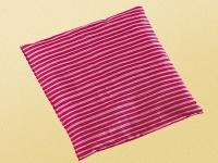 Saling Kirschkernkissen Streifen, pink/rosa, 20 x 20 cm