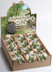 Saling Schafmilchseife Zirbe 100 g   BDIH zertifiziert