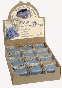 NEU: Schafmilchseife mit Lavendelblüten