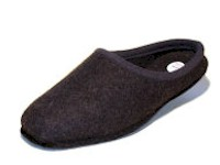 Leichter Wollfilz-Pantoffel