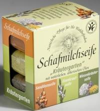 Saling Geschenkpackung Schafmilchseife Kräutergarten