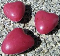 Saling Schafmilchseife Herz mini rot
