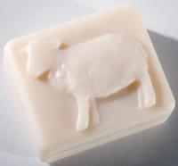 Saling Schafmilchseife Lamm eckig  95 g