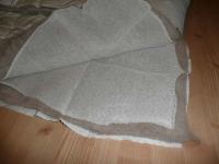 Erzstef DUO Kinder-Wintersteppbett, 100% Alpakawolle, 100 x 135 cm, 2x400 g